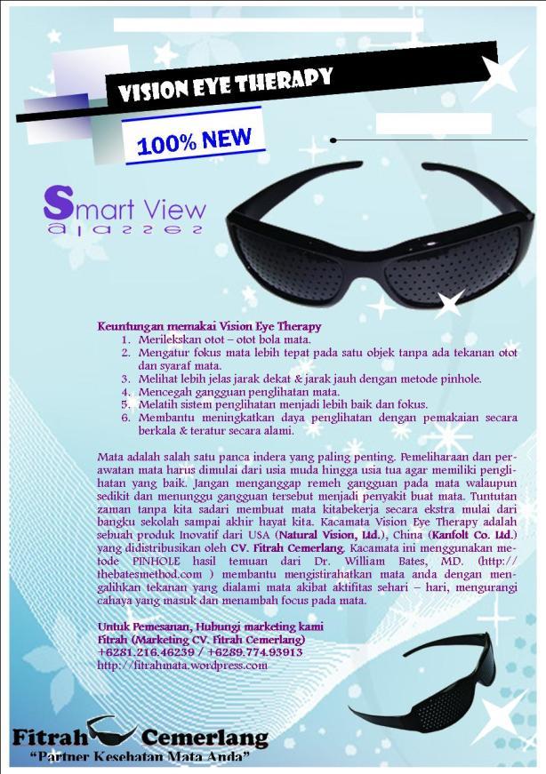Brosur Terbaru Kacamata Vision Eye Therapy Kami